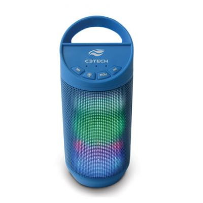 Cx Som Bluetooth Beat SP-B50BL 8W Rms Azul - C3 Tech