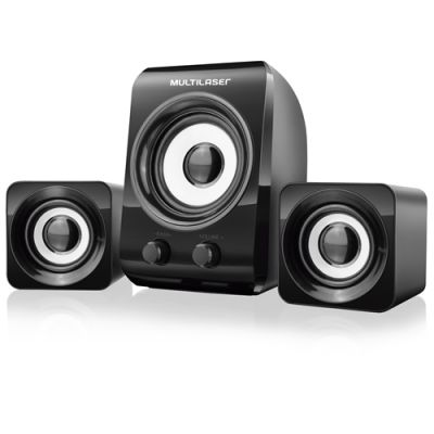 Cx Som Subwoofer 14 W Rms 2.1 SP172 - Multilaser