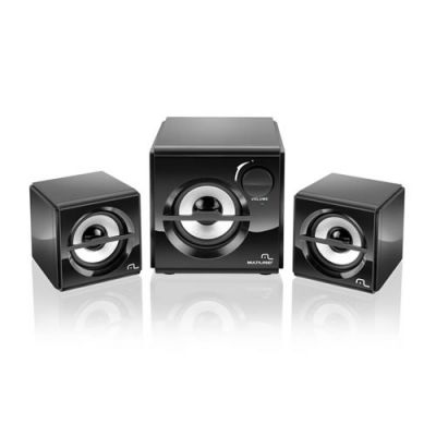 Cx Som Subwoofer 2.1 10W Rms Box SP081 - Multilaser