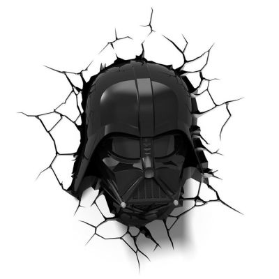 Luminária 3D Light FX Star Wars Darth Vader Mascara - Beek