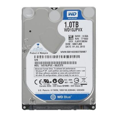 Hd 1 Tera Sata P/ Notebook - Western Digital