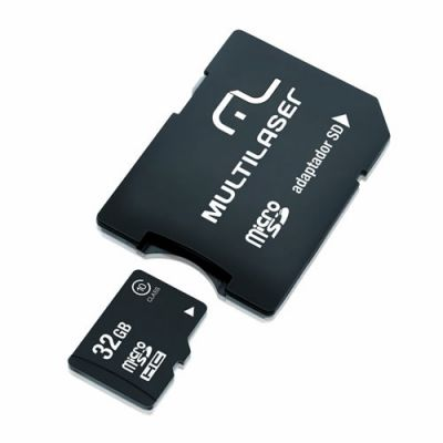 Memory Card 32 GB Micro Sd Classe 10 Mc111 - Multilaser