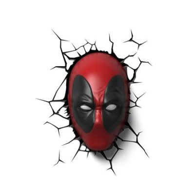 Luminária 3D Light FX Deadpool - Beek