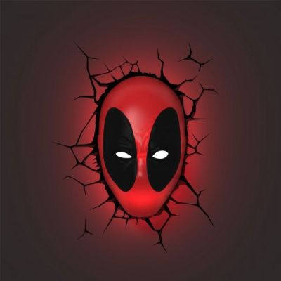 Luminária 3D Light FX Deadpool - Beek  - foto 3