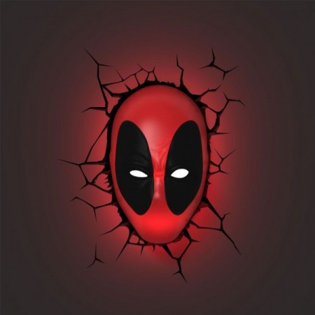 Luminária 3D Light FX Deadpool - Beek  - foto principal 2