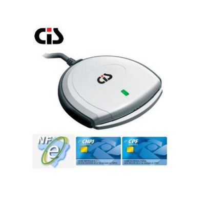 Leitor Grav. de Smartcards Interface Usb Scr3310 - Cis
