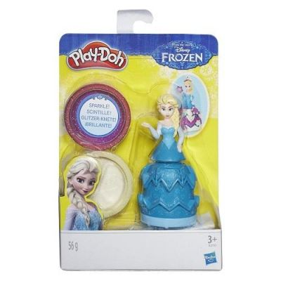 Elsa Estampa Princesas Disney - Play Doh - Hasbro