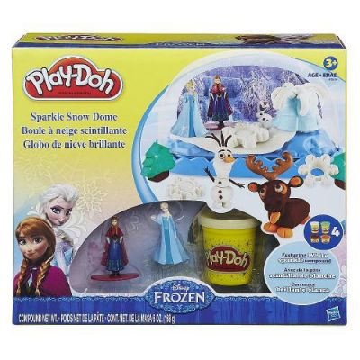 Frozen Kit Globo de Neve - Play Doh - Hasbro