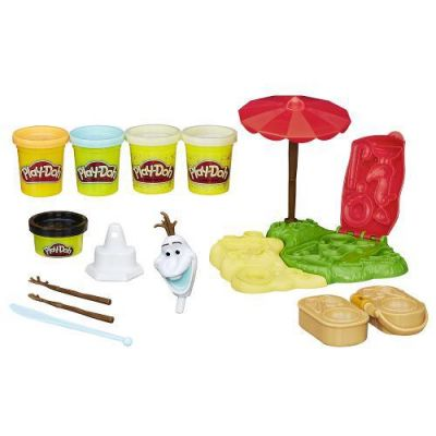 Frozen Kit Verão do Olaf - Play Doh - Hasbro  - foto 2