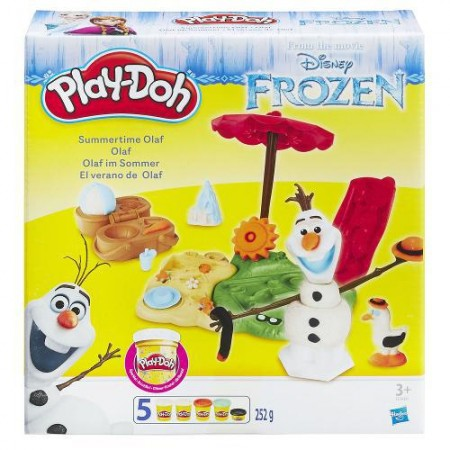 Frozen Kit Verão do Olaf - Play Doh - Hasbro  - foto principal 1