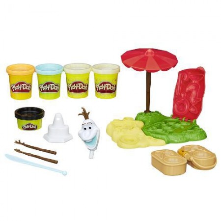 Frozen Kit Verão do Olaf - Play Doh - Hasbro  - foto principal 2