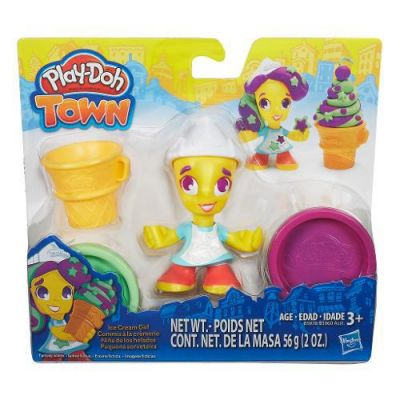 Pequena Sorveteria Kit - Play Doh Town - Hasbro