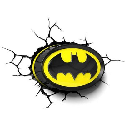 Luminária 3D Light FX Logo Batman - Beek