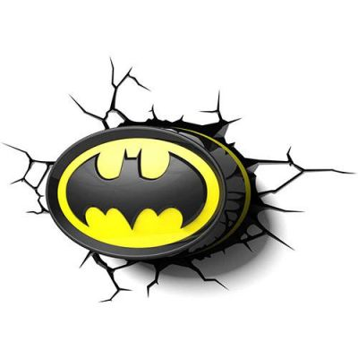 Luminária 3D Light FX Logo Batman - Beek  - foto 4