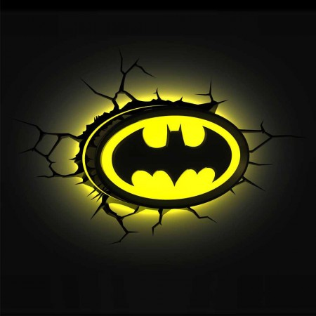 Luminária 3D Light FX Logo Batman - Beek  - foto principal 2