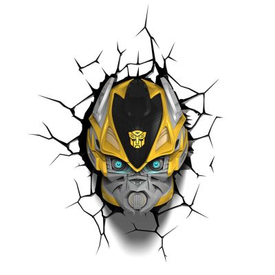 Luminária 3D Light Fx Transformers BumbleBee - Beek  - foto 3