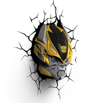 Luminária 3D Light Fx Transformers BumbleBee - Beek