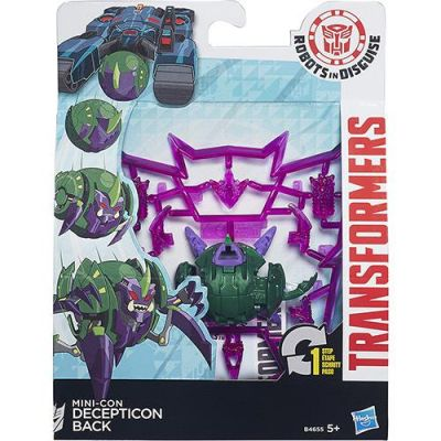 Decepticon Back - Transformers Robots in Disguise - Hasbro