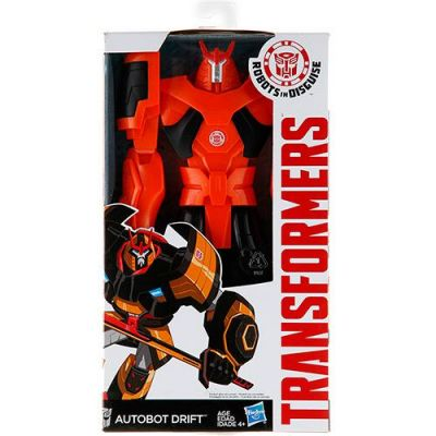 Autobot Drift - Transformers Titan Hero - Hasbro