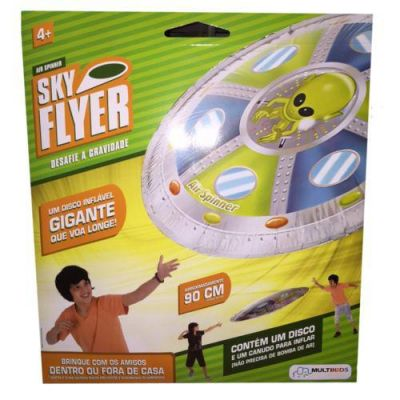 Sky Flyer - Estampa Alien - Multikids