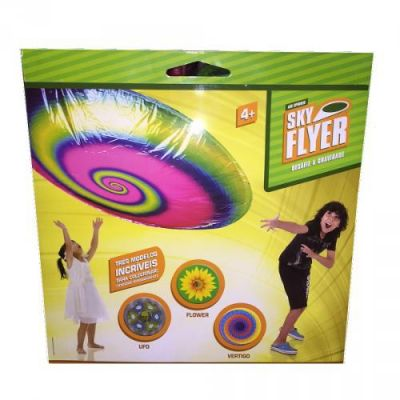 Sky Flyer - Estampa Flores - Multikids