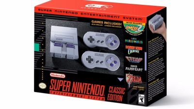 Super Nintendo Snes Mini Classic Edition