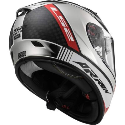 Capacete LS2 FF323 Arrow Carbon Chorome  - foto 5