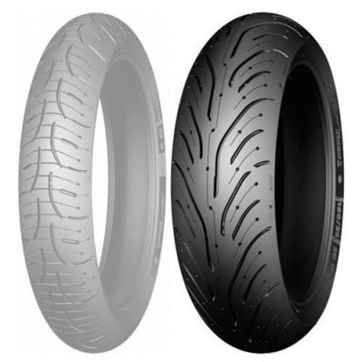 Pneu Michelin Pilot Road 4 Trail 170/60ZR17 72V Traseiro
