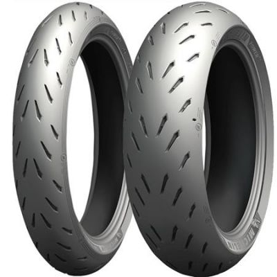 Pneu Michelin Power RS 110/70R17 e 140/70R17 66H (Par)  - foto 2