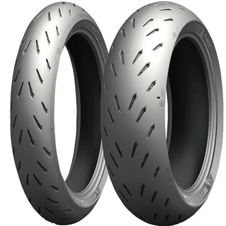 Pneu Michelin Power RS 110/70R17 e 140/70R17 66H (Par)  - foto principal 1