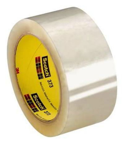 Fita BOPP Empacotamento Transparente Scoth 373 3M - 50mm x 100m