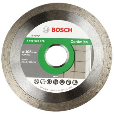 Disco Diamantado Standard Ceramic Contínuo 105mm x 20mm Bosch