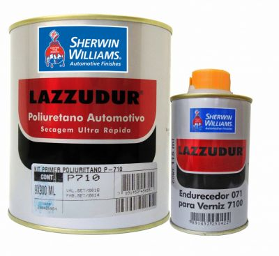 Primer PU Poliuretano P710 Lazzuril 900ml - Sherwin Williams