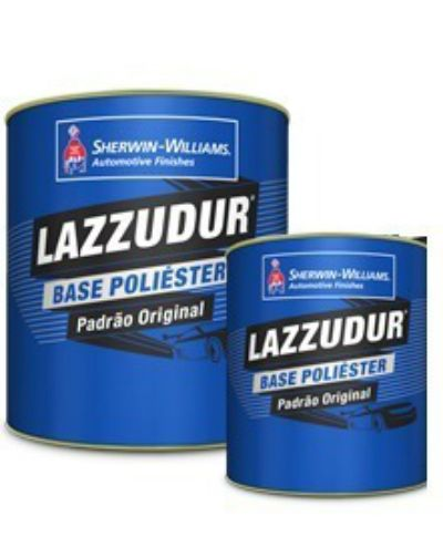 Tinta Poliéster Lazzuril 900ml Prata Huet Met - Sherwin Williams