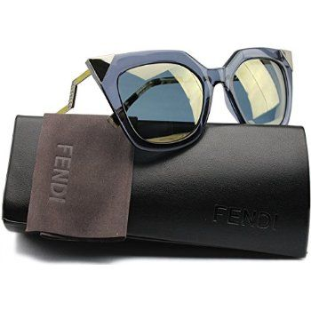 FENDI FF 0060/S MSU/MV BLUE GOLD YELLOW/BRONZE MIRROR  - foto 5