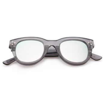 SPEKTRE SHE LOVES YOU GREY TRANSPARENT WITH SILVER MIRRORED LENSES (
