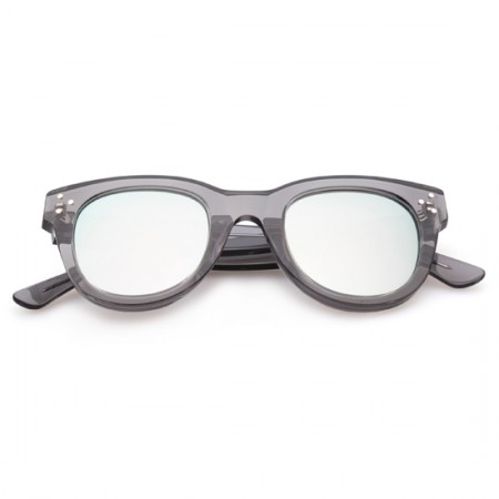SPEKTRE SHE LOVES YOU GREY TRANSPARENT WITH SILVER MIRRORED LENSES