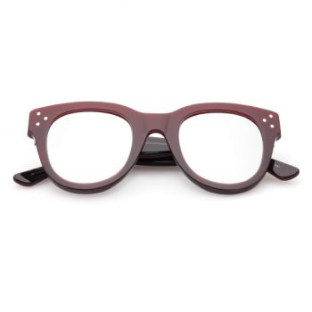 SPEKTRE SHE LOVES YOU BORDEAUX WITH SILVER MIRRORED LENSES