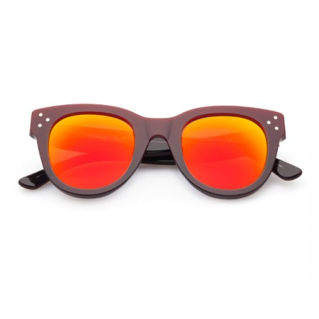 SPEKTRE SHE LOVES YOU BORDEAUX WITH ORANGE MIRRORED LENSES  - foto principal 1