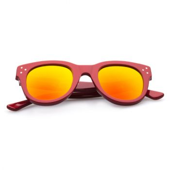 SPEKTRE SHE LOVES YOU RED WITH ORANGE MIRRORED LENSES