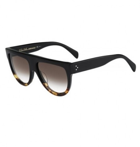 CÉLINE CL 41026/S SHADOW FU5/5I BLACK TORTOISE/BROWN