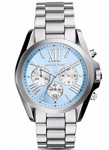 RELÓGIO MICHAEL KORS MK6099 LIGHT BLUE/SILVER