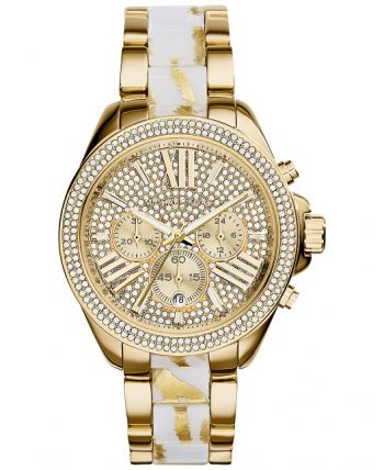 RELÓGIO MICHAEL KORS MK6157 WHITE GOLDEN TURTLE