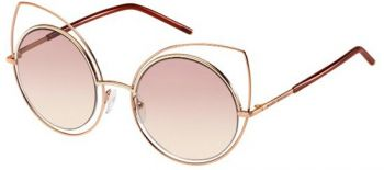 MARC JACOBS MARC 10/S TZF/05 ROSE GOLD BURGUNDY/PINK BEIGE