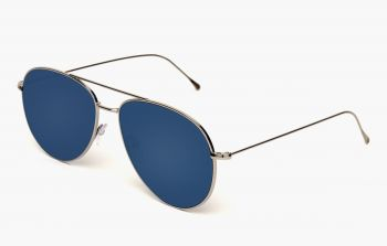 ILLESTEVA LINATE SILVER WITH BLUE MIRRORED LENSES