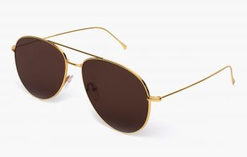 ILLESTEVA LINATE GOLD WITH BROWN LENSES