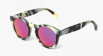 LEONARD HORN WITH PINK MIRRORED LENSES