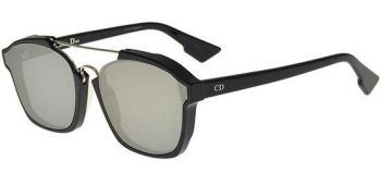 CHRISTIAN DIOR ABSTRACT 807/0T BLACK/SILVER MIRROR