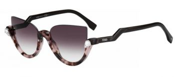 FENDI FF 0138/S BLINK N71/J8 ROSE/HAVANA BROWN/MAUVE