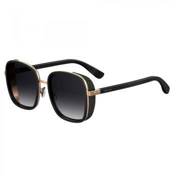 JIMMY CHOO ELVA/S BLACK GOLD GREY